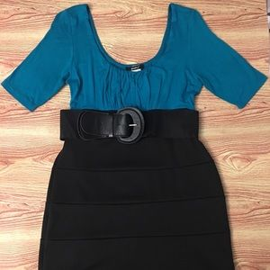 Poetry Belted Dress